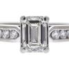 1.2 ct. Emerald Cut Solitaire Ring, H, VVS2 #4