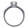 0.72 ct. Round Cut Bridal Set Ring, H-I, VS2-SI1 #3