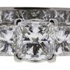 1.21 ct. Princess Cut Bridal Set Ring, D, VS2 #3