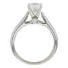 1.12 ct. Round Cut Solitaire Ring, G-H, I1 #3