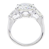 5.01 ct. Round Cut 3 Stone Ring, I, SI1 #3