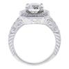 1.79 ct. Round Cut Halo Ring, H, VVS1 #4