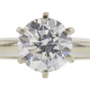 1.51 ct. Round Cut Solitaire Ring, E, SI1 #4