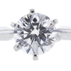1.01 ct. Round Cut Solitaire Ring, I, SI2 #4