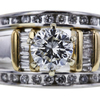 0.70 ct. Round Cut Bridal Set Ring, I, VS1 #4
