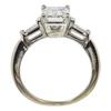 2.02 ct. Emerald Cut Bridal Set Ring, F, VS2 #3