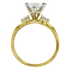 0.96 ct. Trilliant Cut Bridal Set Ring, E, VS2 #1