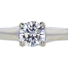 1.01 ct. Round Cut Solitaire Ring, H, VS1 #3