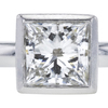 1.24 ct. Princess Cut Solitaire Tiffany & Co. Ring, H-I, VS1 #1
