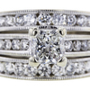 1.65 ct. Princess Cut Bridal Set Ring #2