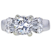 2.04 ct. Round Cut Solitaire Ring, H-I, I1 #3