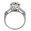 3.6 ct. Round Cut 3 Stone Ring, M, VS1 #3