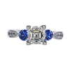 1.51 ct. Asscher Cut Solitaire Ring, J, VVS2 #3