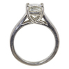 1.5 ct. Princess Cut Solitaire Ring, J, SI2 #4