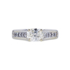 1.23 ct. Oval Cut Solitaire Ring, K, SI1 #3