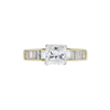 1.03 ct. Radiant Cut Solitaire Ring, G, VS1 #3