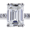 2.01 ct. Emerald Cut Solitaire Ring, F, VS1 #4