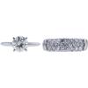 1.52 ct. Round Cut Bridal Set Ring, K-L, I2 #2