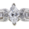1.09 ct. Marquise Cut Bridal Set Ring #4