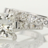 1.53 ct. Princess Cut Bridal Set Ring #2