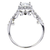 1.06 ct. Princess Cut Bridal Set Ring, G, VS1 #2