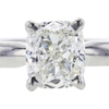 1.01 ct. Cushion Cut Solitaire Ring, I, SI1 #4