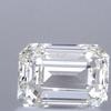 1.01 ct. Emerald Cut Bridal Set Ring, K, SI1 #1