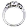 0.73 ct. Round Cut 3 Stone Ring, H-I, VS1 #3