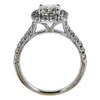 1.50 ct. Cushion Cut Halo Ring, J-K, VS1-VS2 #3