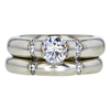 .79 ct. Round Cut Bridal Set Ring, G, VS2 #3