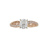 1.02 ct. Oval Cut Solitaire Ring, G, SI2 #3