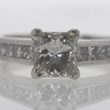 1.52 ct. Princess Cut Bridal Set Ring #4