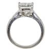 2.41 ct. Princess Cut Solitaire Ring, I, SI2 #4