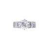 2.00 ct. Round Cut Solitaire Ring, E, VVS2 #3