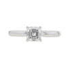 1.0 ct. Asscher Cut Solitaire Ring, G, VS1 #3