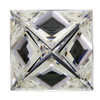 2.06 ct. Princess Cut Solitaire Ring #3