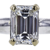 1.02 ct. Emerald Cut Solitaire Ring, F, VS2 #4