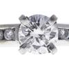 0.72 ct. Round Cut Bridal Set Ring, I, SI2 #4