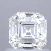 0.85 ct. Square Emerald Cut Solitaire Ring, I, VS2 #1