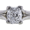1.04 ct. Radiant Cut Solitaire Ring, E, VS2 #4