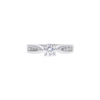 0.56 ct. Round Cut Solitaire Ring, D, VVS1 #3