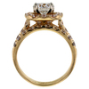 1.58 ct. Round Cut Halo Ring #2