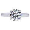 1.50 ct. Round Cut Solitaire Ring, H, SI1 #3