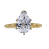 2.02 ct. Pear Cut Solitaire Ring, D, I1 #3