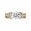 1.0 ct. Round Cut Ring, G, SI2 #3