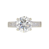2.12 ct. Round Cut Solitaire Ring, L, SI2 #3