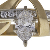 1.11 ct. Marquise Cut Ring, H, SI1 #4