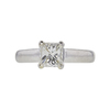 1.06 ct. Princess Cut Solitaire Ring, H, VS1 #3