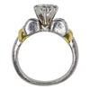 1.35 ct. Round Cut Solitaire Ring, D, SI2 #4