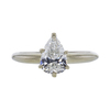 1.30 ct. Pear Cut Solitaire Ring, I, SI2 #3
